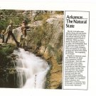 Arkansas The Natural State Map Fold Out Brochure