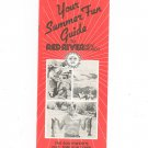 Your Summer Fun Guide To Red River New Mexico Brochure 1980's ?