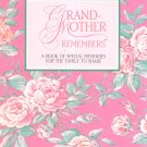 Grand Mother Remembers by Kumiko Robinson Memory Book Carlton Cards Memories