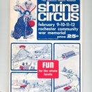 Vintage Damascus Shrine Circus Official Program 1966 Souvenir Advertisements