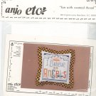 Anjo Etc. I Believe In Angels Craft Kit 3237 Fun With Counted Thread