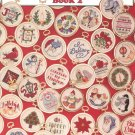 101 Christmas MInis Book 2 by Holly DeFount Leisure Arts 2535