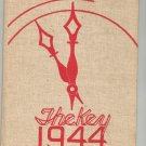 The Key 1944 Year Book Benjamin Franklin Yearbook Rochester New York High School Vintage