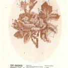Vintage Columbia Minerva Designer Needlepoint Rose No. 4 GS 66565 Craft Kit