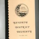 Seventh District Delights Volume Two Cookbook Regional Garden Club New York