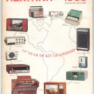 Vintage Heathkit 1968 Catalog 810 / 68 Over 300 Kits