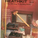 Vintage Heathkit Fall Winter 1968 Catalog