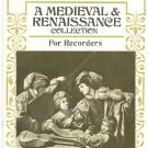 A Medieval & Renaissance collection For Recorders Dolmetsch Library