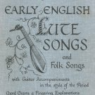 Early English Lute Songs & Folk H 118 Guitar John Runge's Collection Hargail Music