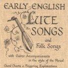 Early English Lute Songs & Folk HFA 26 Guitar John Runge's Collection Hargail Music