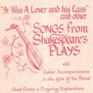 It Was A Lover & His Lass Shakespeare's Plays HFA 29 Guitar John Runge's Collection Hargail Music