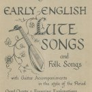 Early English Lute Songs & Folk HFA 7 Guitar John Runge's Collection Hargail Music