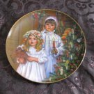 Christmas Magic Collector Plate Childhood Almanac Sandra Kuck With Box & Certificate