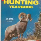 Vintage Hunting Yearbook 1961 Edition Hunter's Bible by True Magazine 20 Years Ram