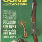 Vintage Guns And Hunting Magazine November 1961 Union Troops Handguns Ballistics Survival Not PDF