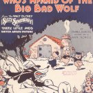 Mickey Mouse Presents Who's Afraid Of The Big Bad Wolf Sheet Music Berlin