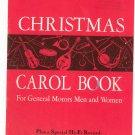 Christmas Carol Book For General Motors Men And Women Vintage
