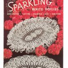 Vintage Sparkling White Doilies  Star Book Number 91 American Thread 1952