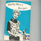 Vintage Molly Weir's Recipes Cookbook