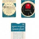 Vintage Kodak Outdoor Exposure Guide With Sleeve Plus Indoor Exposure Guide