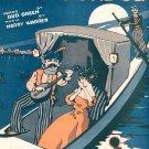 Vintage In My Gondola Sheet Music Harry Warren Shapiro Bernstein