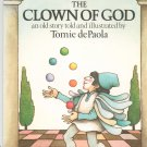 The Clown Of God by Tomie de Paola 0156181924 First Edition Signed Copy
