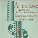 Bernice Frost's At The Piano Book Two Vintage Folk Tunes Boston Music Company