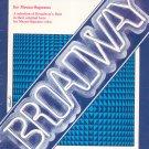 Broadway Repertoire For Mezzo SopranoChappell Music Company