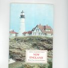 New England Know Your America Program Vintage Geographical Society Doubleday
