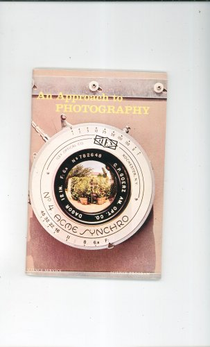 An Approach To Photography Vintage Science Service Program Doubleday