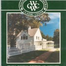 Walpole Woodworkers Classic Cedar Catalog 1989 Fencing Buildings Furniture Accessories