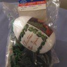 Holiday Craft Trims Christmas Ornament Kit 6170 F In Package With Instructions