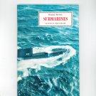Submarines Vintage Science Service Program Doubleday