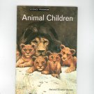Animal Children Vintage Science Program National Audubon Society Doubleday