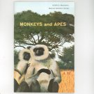 Monkeys And Apes Vintage Science Program National Audubon Society Doubleday