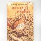Camouflage In Nature Vintage Science Program National Audubon Society Doubleday