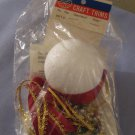 Holiday Craft Trims Christmas Ornament Kit 3171 A Spangled Fantasy In Package With Instructions