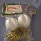 Holiday Craft Trims Christmas Ornament Kit 4057 Glittering Glamour In Package With Instructions