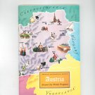 Austria Around The World Program Vintage Geographical Society Doubleday