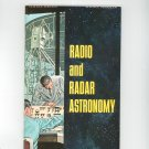 Radio And Radar Astronomy Vintage Science Service Program Doubleday