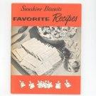 Vintage Sunshine Biscuits Favorite Recipes Cookbook