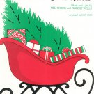 The Christmas Song Chestnuts Roasting Sheet Music Piano Torme & Wells
