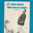 Call Me Irresponsible Sheet Music Vintage Cahn & Van Heusen Paramount