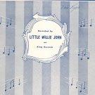 Sleep Sheet Music Lebieg Miller