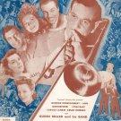 Serenade In Blue Vintage Sheet Music Gordon & Warren BVC
