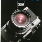 Olympus OM-2 Camera Sales Brochure / Catalog
