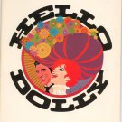 Hello Dolly Journal Souvenir Vintage