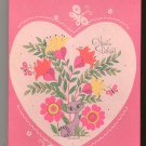 Heart's Delight Assorted Colors Box Set Envelopes & Paper Decorated Pratt & Austin