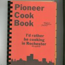 Pioneer Cook Book Cookbook Regional Rochester New York Telephone Pioneers Of America