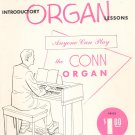 Vintage Six Introductory Organ Lessons by Wallace Behnke Conn Organ
